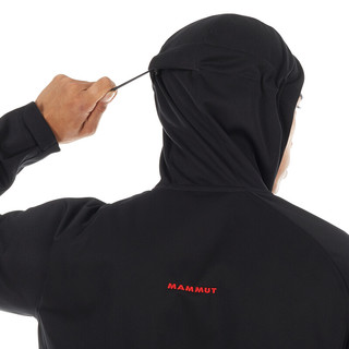 MAMMUT 猛犸象 男士软壳衣 1011-21161 黑色 M