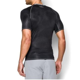 UNDER ARMOUR 安德玛 男士运动T恤 1257477-001 黑色 XL