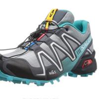 Salomon 萨洛蒙 SPEEDCROSS 3 女士越野跑鞋 329781 亮灰色 36