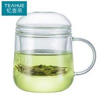 TEAHUE 忆壶茶  茶杯耐热加厚玻璃杯 420ml