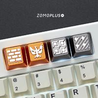 ZOMO PLUS 原创设计 Battle City 像素坦克大战 经典游戏 机械键盘键帽
