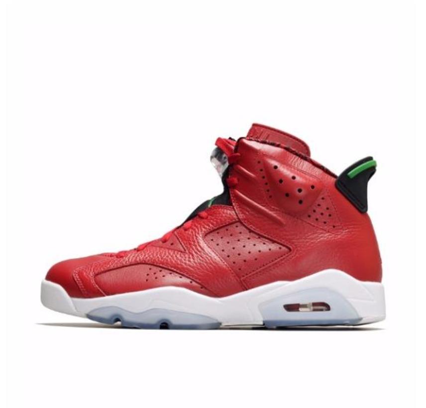 NIKE 耐克 正代系列 Air Jordan 6 男士休闲运动鞋 384664-623 红 43