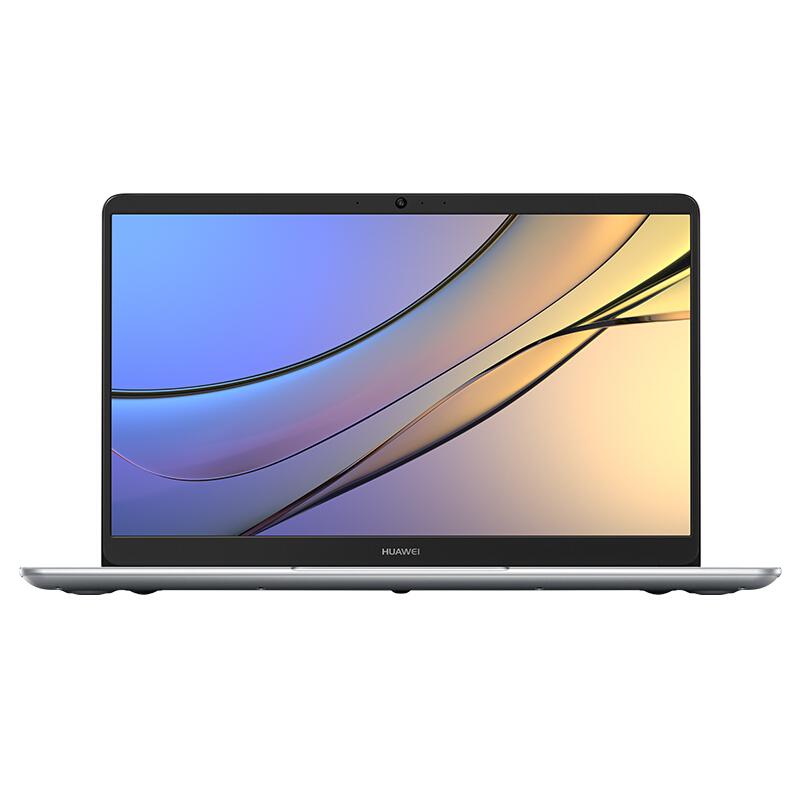 HUAWEI 华为 MateBook D 2018款 15.6英寸 笔记本电脑 (银色、酷睿i5-8250U、8GB、256GB SSD、MX150)