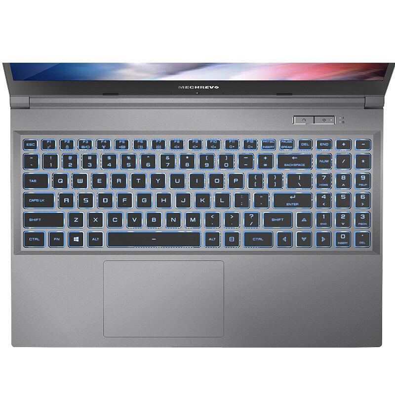 MECHREVO 机械革命 深海幽灵Z3 Air-S 15.6英寸 笔记本电脑 酷睿i7-10870H 16GB 512GB SSD RTX 2060 6G 72%NTSC 144Hz 灰色