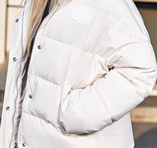 Kappa 卡帕 女士运动羽绒服 K0962YY70D 漂白 S