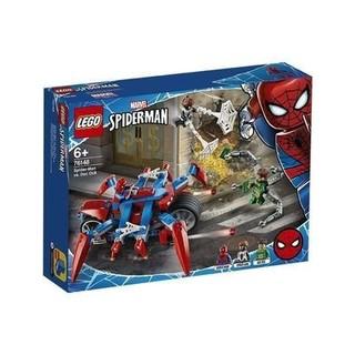 百亿补贴 : LEGO 乐高 超级英雄 76148 蜘蛛侠大战章鱼博士 美版