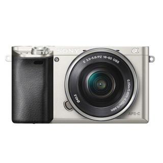 SONY 索尼 Alpha系列 Alpha 6000L 微单数码相机 标准套机 银色