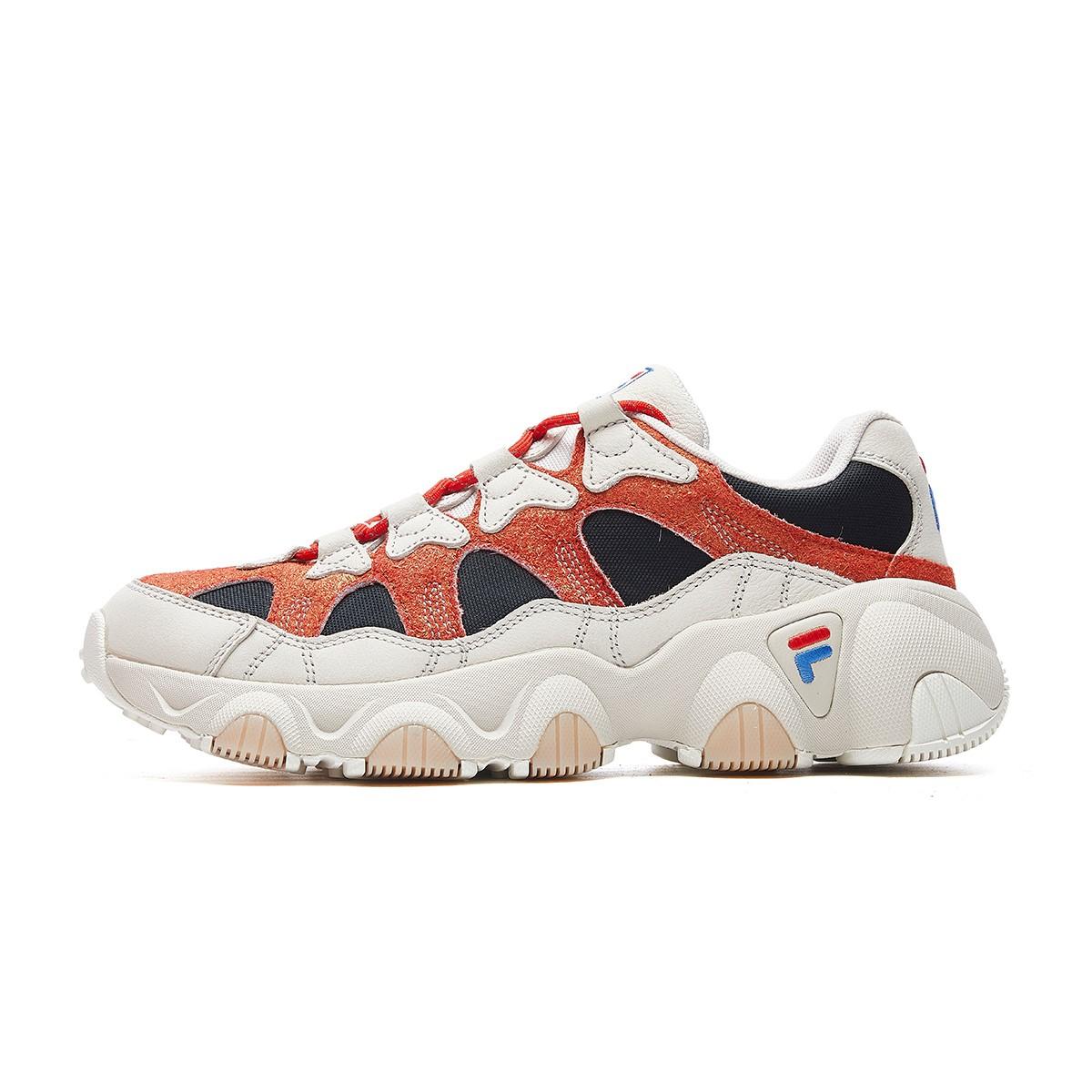 FILA 斐乐 FUSION系列 JAGGER 男士跑鞋 T12M941101F 玫红 41