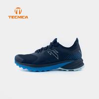 TECNICA泰尼卡越野跑鞋可定制男裹户外旅行登山徒步鞋越野跑鞋 女款:蓝黑XT-≥55KG 39(UK5.5)