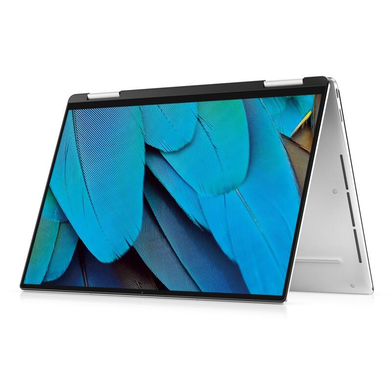 DELL 戴尔 XPS9310 13.4英寸英特尔Evo超能轻薄本酷睿i74K防蓝光屏触控翻转2合1笔记本电脑( i7 16G 512G)银黑
