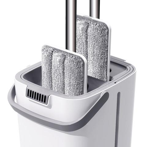 博生 SL-256 免手洗拖把套装(1厚桶+1强杆+1块布)