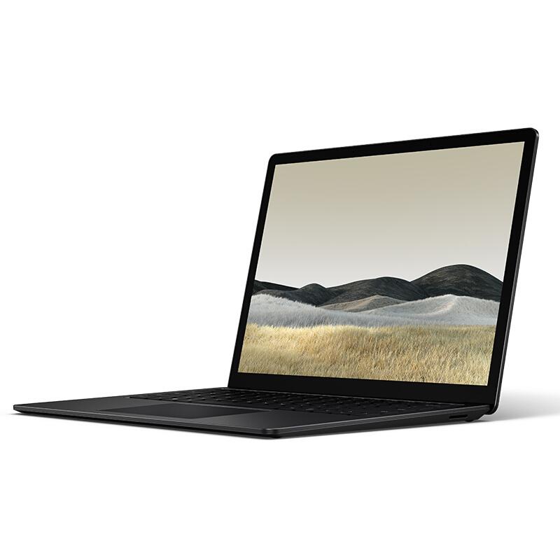 Microsoft 微软 Surface Laptop 3 13.5英寸 笔记本电脑 (典雅黑、酷睿i5-1035G7、8GB、256GB SSD、核显)