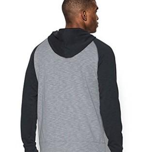 UNDER ARMOUR 安德玛 男士运动卫衣/套头衫 1290255-035 银白色/白 S