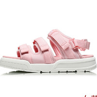 LI-NING 李宁 女士休闲运动鞋 AGUN012-5 浅粉红/标准白 37.5