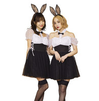 Party City GLOW HOLIC 万圣节角色扮演 钻石兔子COS服 *2件