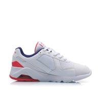 LI-NING 李宁 男士休闲运动鞋 AGCP093-1 标准白/深宝蓝/赤樱红 43.5