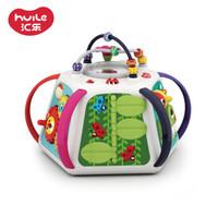 汇乐玩具(HUILE TOYS)D809 探索新天地六面体 婴儿益智玩具儿童游戏桌宝宝玩具桌学习桌