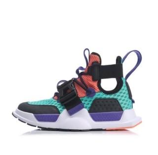 LI-NING 李宁 重燃系列 中性篮球鞋 AGBP023-1 荧光玉绿/标准黑 38