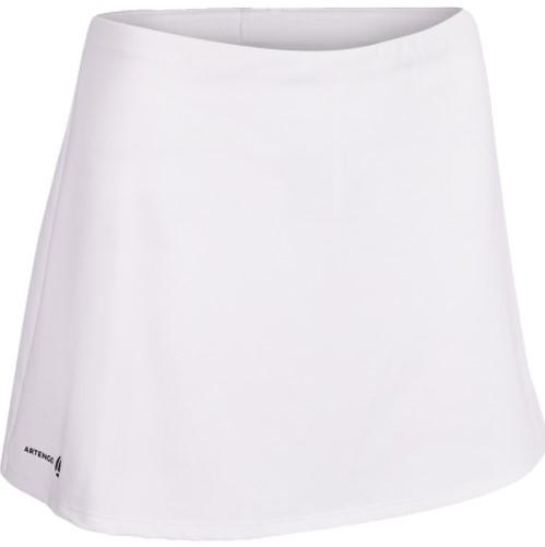 DECATHLON 迪卡儂 女士運動短裙 8356639 白色 XS