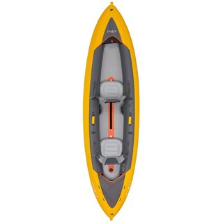 DECATHLON 迪卡侬 皮划艇系列 K100 PLUS 皮划艇充气艇 8486041 黄色