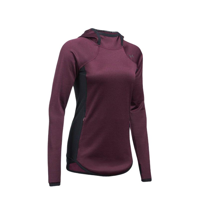 UNDER ARMOUR 安德玛 女士运动卫衣/套头衫 1298601-916 红色 XL