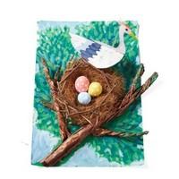 乐加酷 小鸟的新窝 手工DIY创意美术材料包