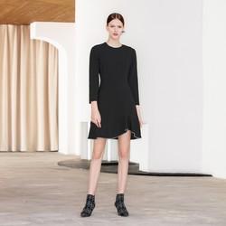 ochirly 欧时力 1GY1084390 女款法式连衣裙