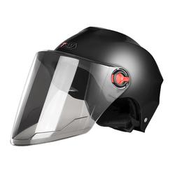 电动电瓶车头盔男女士冬季安全帽保暖半盔儿童轻便摩托车四季头盔