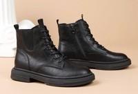 La Chapelle 拉夏贝尔 L0503138401 女士短款马丁靴