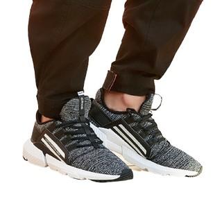 ERKE 鸿星尔克 男士跑鞋 51119103078 正黑/正白 42