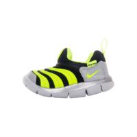 NIKE 耐克 儿童毛毛虫休闲运动鞋 CI1186-081 黑灰/荧光黄 22码