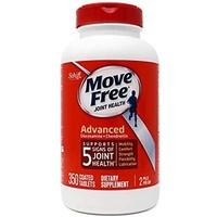 Schiff Move Free 葡萄糖胺和软骨素高级关节补充剂片 350粒 *3件