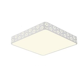 HD 雪花 LED客厅吸顶灯 55W 方形