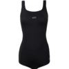 DECATHLON 迪卡侬 EASY・乐享泳趣系列 女士连体泳衣 8538975 黑色 XS