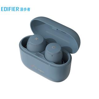 EDIFIER 漫步者 MiniBuds 真无线分体式蓝牙耳机 雾霾蓝