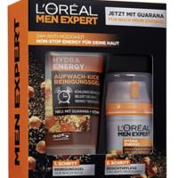 L'Oréal 欧莱雅 Men Expert Hydra Energy 男士礼品套装 保湿水 (50 毫升)和洁面啫喱(100 毫升)