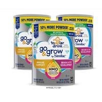 Similac 美国雅培 Go & Grow Non-GMO 幼儿奶粉 3罐装 *3件