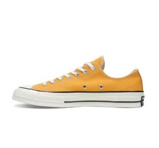 CONVERSE 匡威 all star 70s系列 中性运动帆布鞋 164949C 黄色 37