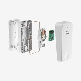 OPPLE 欧普照明 自发电无线门铃 1个接收器+1个门铃