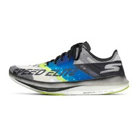 SKECHERS 斯凯奇 GO run Speed Elite Hyper 男士跑鞋 55221/BKBL 黑色/蓝色 41