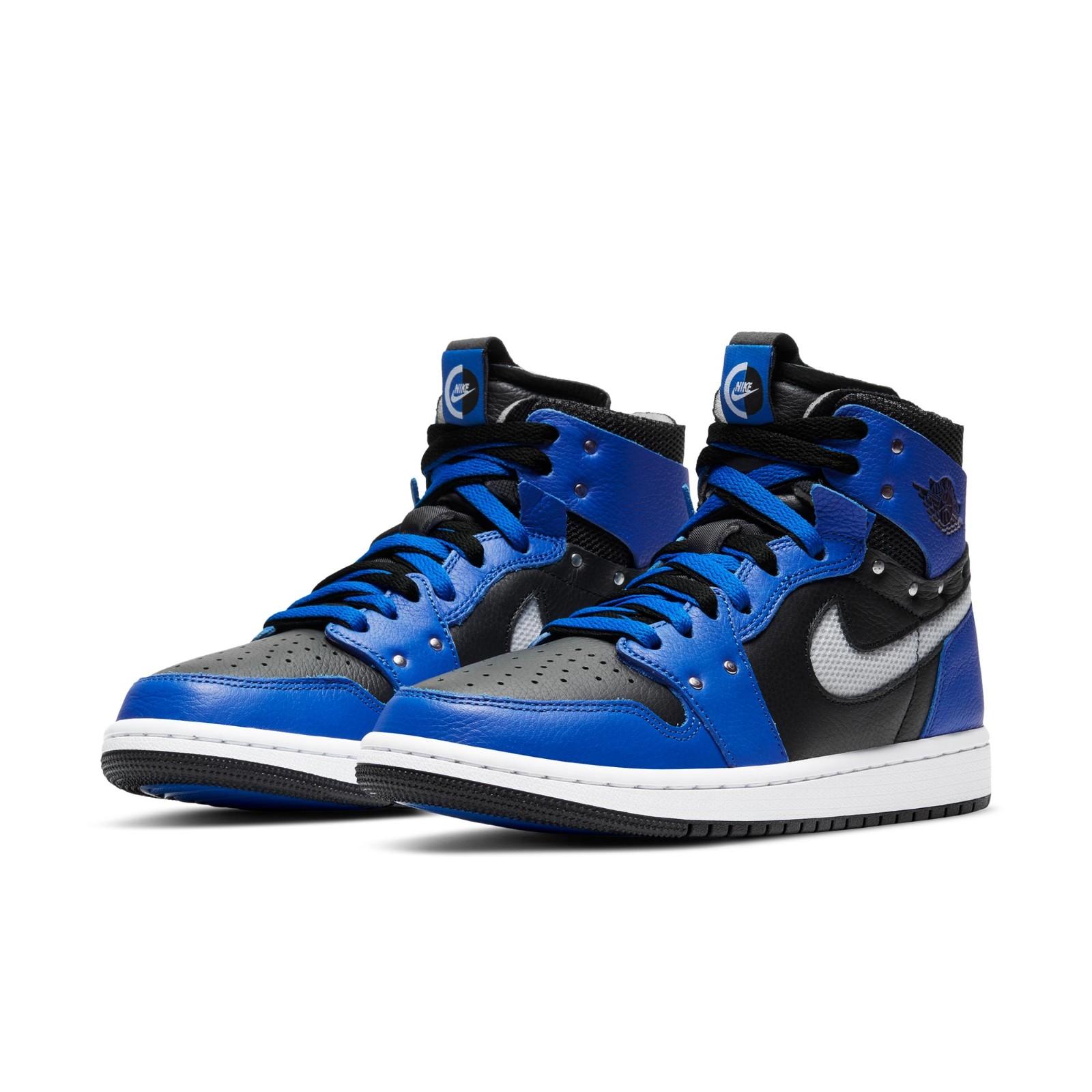 AIR JORDAN 正代系列 Air Jordan 1 女士篮球鞋 CZ1360-401 皇家蓝/黑/白色 35.5