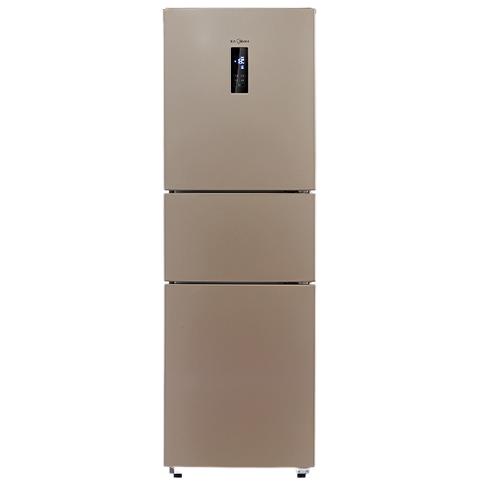 Midea 美的 BCD-230WTM(E) 风冷无霜三门冰箱 230L 阳光米