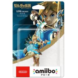Nintendo 任天堂 塞尔达传说 amiibo手办 林克弓箭 公主 四英杰