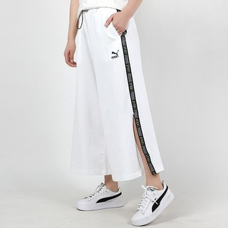 PUMA 彪马 裤子女2020夏季新款宽松运动裤潮流阔腿裤休闲长裤598522