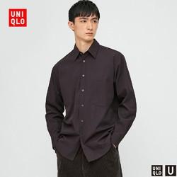 UNIQLO 优衣库 428976 男士衬衫长袖