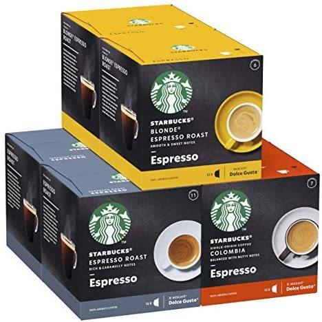 中亚Prime会员:STARBUCKS 胶囊咖啡 3种口味 72颗