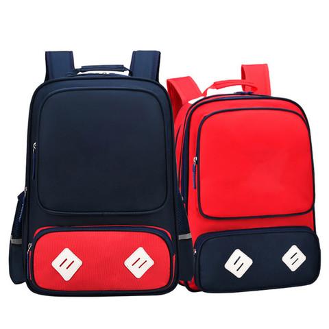 伊顿威格 英伦儿童书包中小学生双肩背包防水带反光条小号