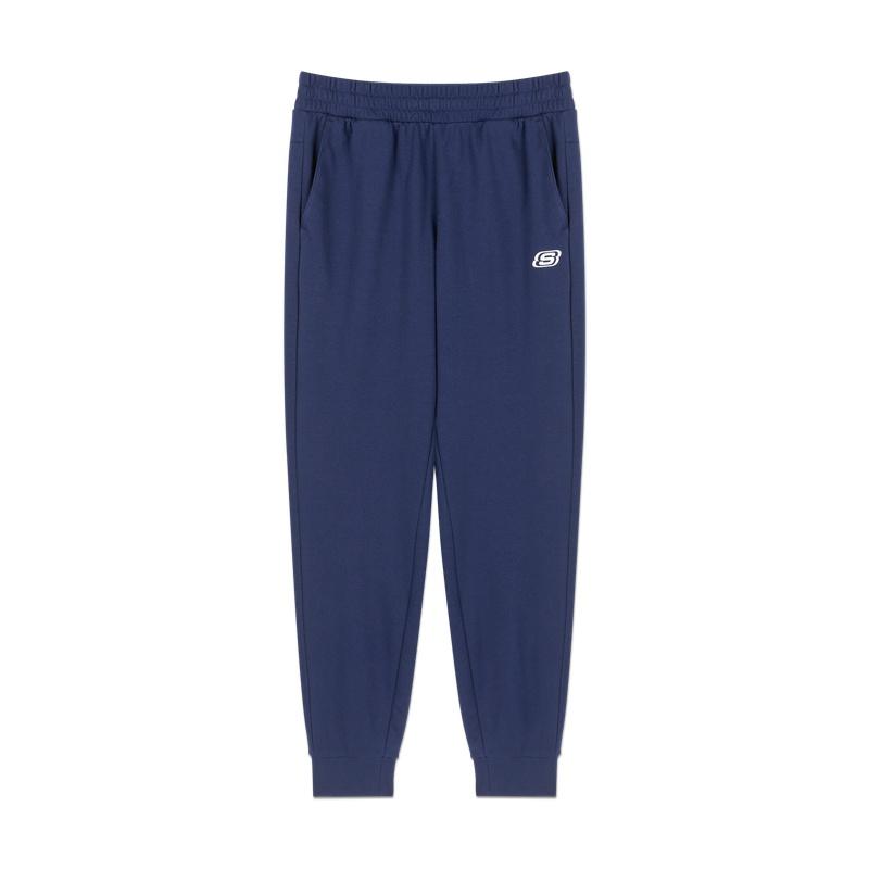 SKECHERS 斯凯奇 男士运动裤 L320M155-007D 蓝色 M