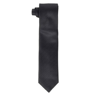 HUGO 男士丝绸领带50441480 黑色