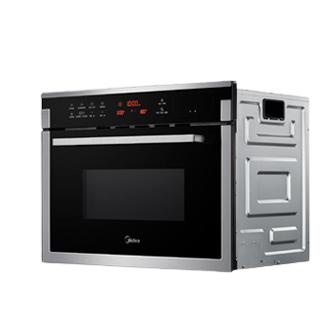 Midea 美的 TR934FMJ-SS 嵌入式蒸烤一体电烤箱 34L 黑色银边